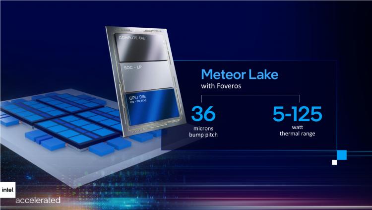 Intel показала 7-нм кристаллы процессоров Meteor Lake1