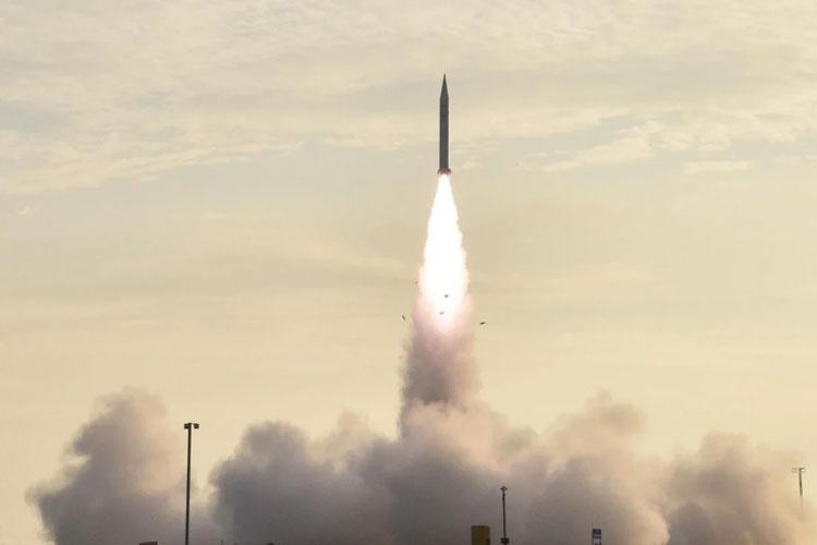 Испытания китайской гиперзвуковой ракеты. Источник изображения: SCMP