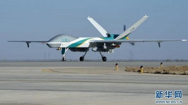 Китайский пошодный дрон. Источник изображения: Nikkei