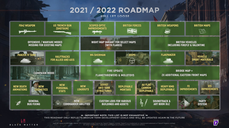 Планы разработчиков Hell Let Loose на остаток текущего и следующий годы