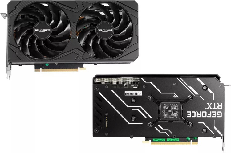 Palit выпустила компактную видеокарту GeForce RTX 3070 LHR длиной 238 мм1