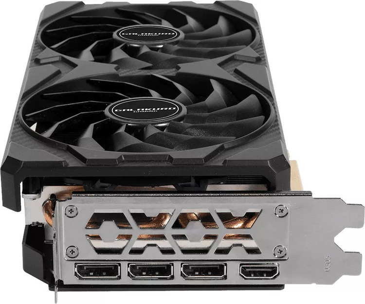 Palit выпустила компактную видеокарту GeForce RTX 3070 LHR длиной 238 мм3