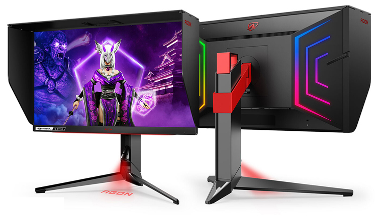 Представлен игровой 360-Гц монитор Agon PRO AG254FG с технологией NVIDIA Reflex за 820 евро