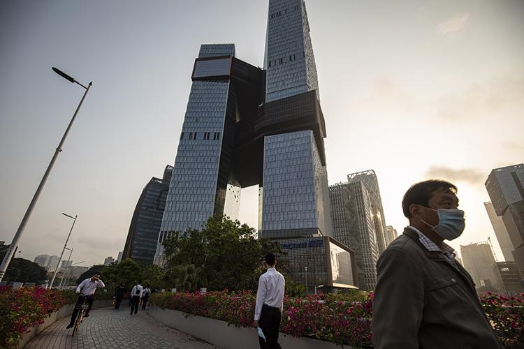 Qilai Shen/Bloomberg