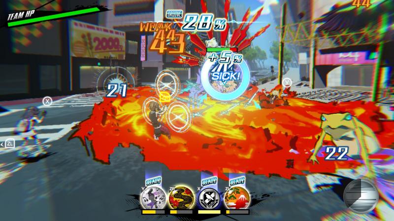 Битвы проходят хаотично и с большим количеством эффектов, поэтому нужно внимательно следить за противником. А жаба в углу будет следить за тобой!