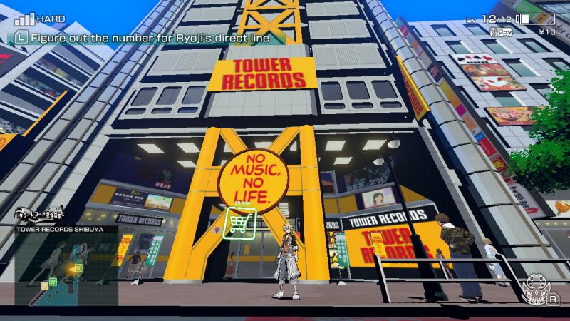 Tower Records в игре….