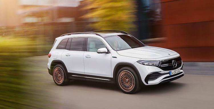 Mercedes-Benz EQB. Источник изображения: Daimler
