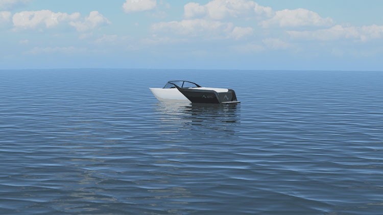 В мире моторных лодок появилась своя «Тесла» и создали её выходцы из SpaceX