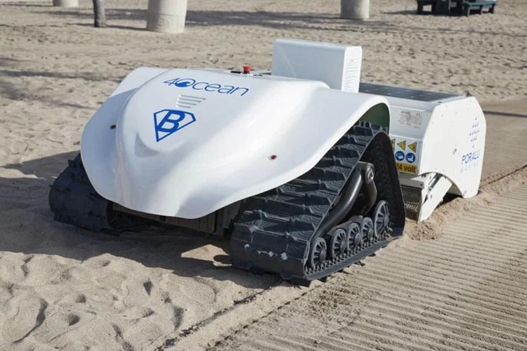 В США создали робота-мусорщика BeBot для очистки пляжей