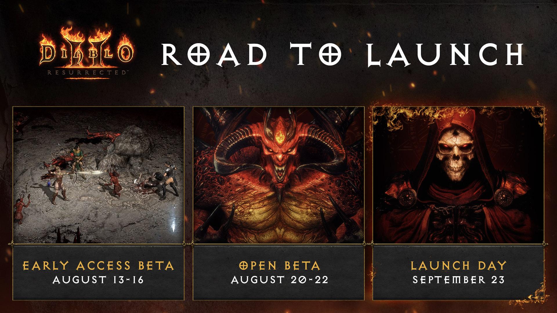 Открытая «бета» Diablo II: Resurrected начнётся на следующей неделе, а ранний доступ стартует уже на этой
