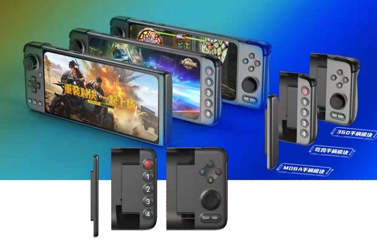 GPD выпустит игровую консоль GPD-XP на базе Android с модульной конструкцией