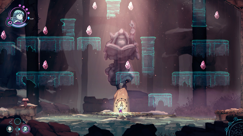 Персональные храмы с испытаниями — по одному на каждого героя. Единственный способ слегка увеличить запас здоровья коурина