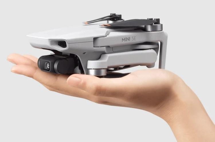 Самый доступный дрон DJI Mini SE оказался обновлённой версией Mavic Mini
