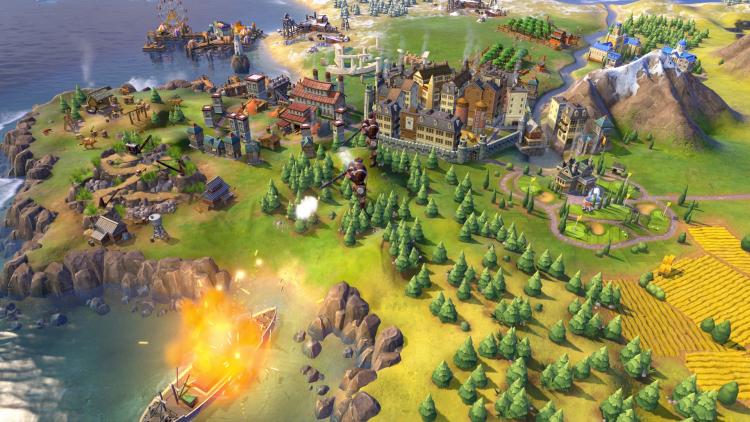 Sid Meier's Civilization VI, источник изображения: Steam