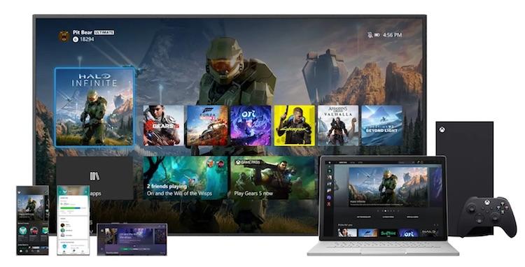 Microsoft добавила Xbox Series X пользовательский интерфейс с разрешением 4К1