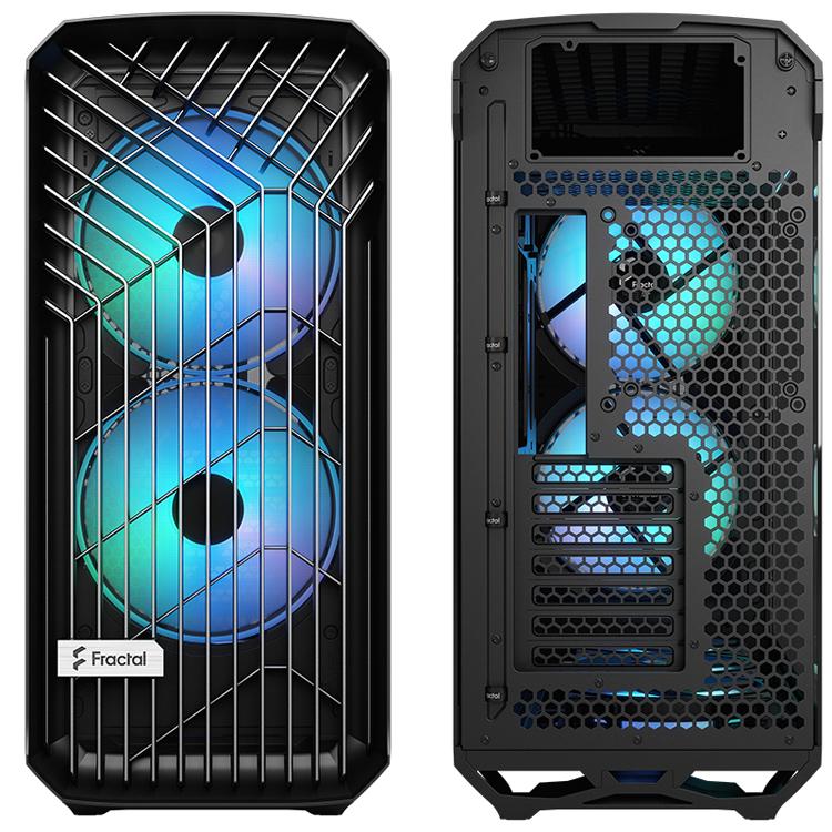 Fractal Design представила корпус Torrent с необычным дизайном и пятью вентиляторами ARGB2