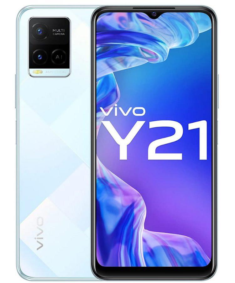 Смартфон Vivo Y21 получил экран Halo FullView HD, батарею на 5000 мАч и цену от $190