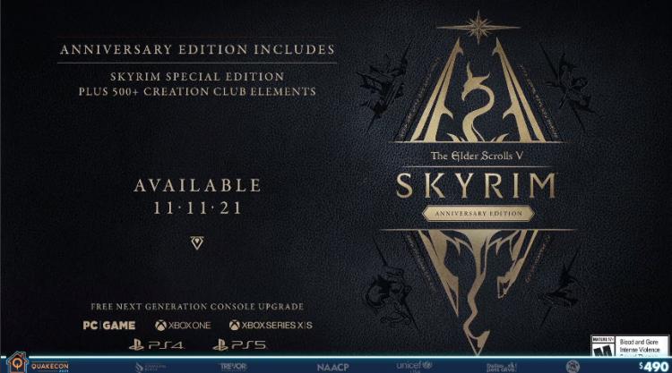 Купите ещё раз: анонсировано издание TES V: Skyrim Anniversary Edition с рыбалкой и 500 предметами из Creation Club1