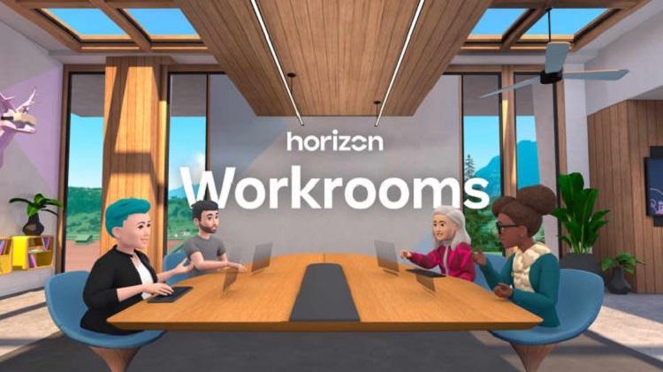 Facebook продемонстрировала работу первой версии метавселенной  виртуальной среды Horizon Workrooms