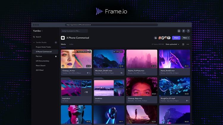 Adobe покупает стартап Frame.io — разработчика ПО для совместной работы над видеопроектами в облаке