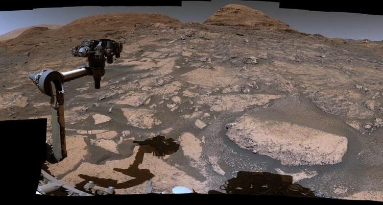 Марсоход Curiosity нашёл участок Красной планеты, который расскажет об истории изменений её климата