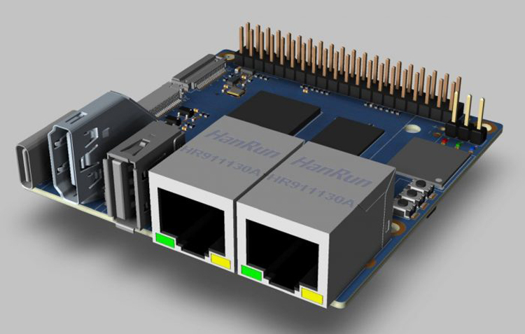 """Одноплатный компьютер Banana Pi BMP-M2S предложит шестиядерный чип и ИИ-ускоритель"""""""