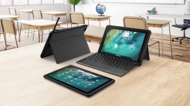 ASUS представила гибридный планшет Chromebook Detachable CZ1 с процессором MediaTek Kompanio 500 и ударопрочным корпусом