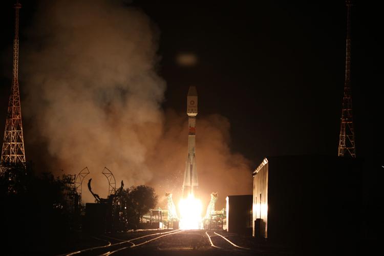 Ракета «Союз-2.1б» успешно доставила на орбиту 34 спутника OneWeb1