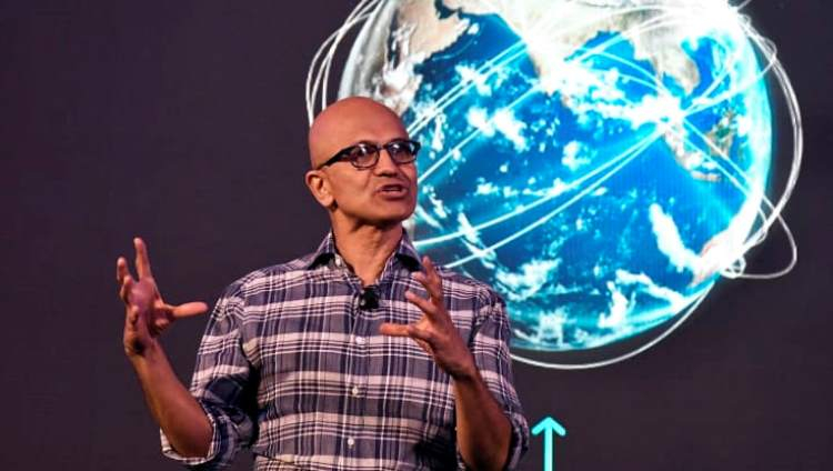 Генеральный директор Microsoft Сатья Наделла / Изображение: Manjunath Kiran / AFP / Getty Images