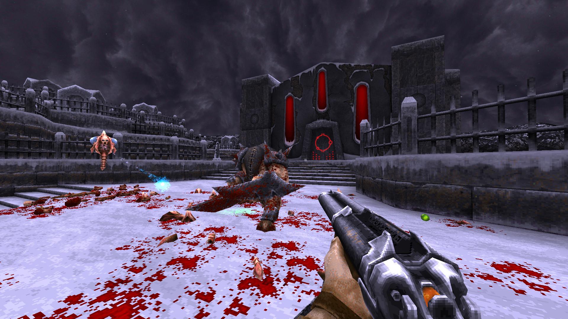 Релиз полной версии ретрошутера Wrath: Aeon of Ruin снова перенесли  теперь на 2022 год