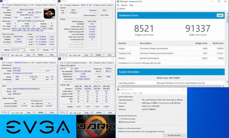 """EVGA показала материнскую плату X570 DARK для экстремального разгона AMD Ryzen"""""""