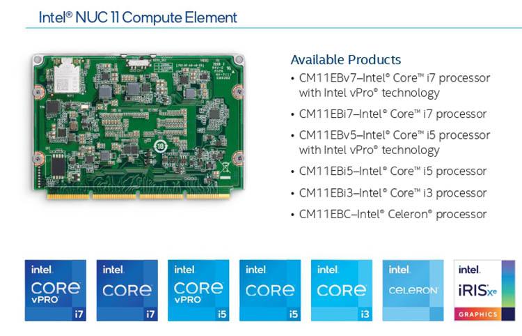 """Intel NUC Elements U-серии 11-го поколения — компактные модульные компьютеры с возможностью быстрого апгрейда"""""""