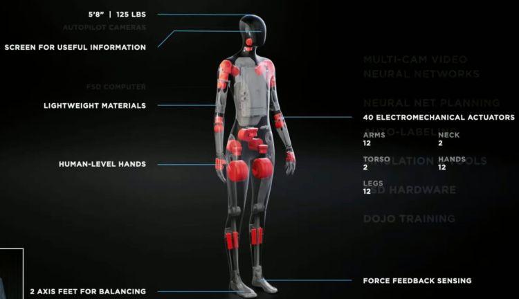Tesla открыла вакансии для специалистов, которые займутся разработкой человекоподобного робота