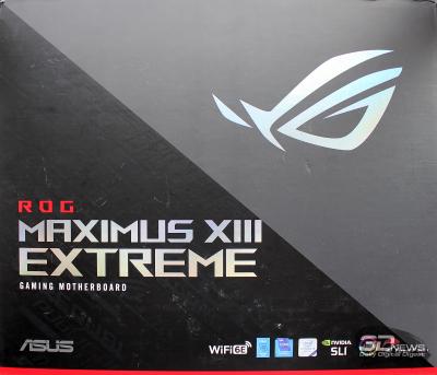 Материнская плата ASUS ROG Maximus XIII Extreme: без суеверий