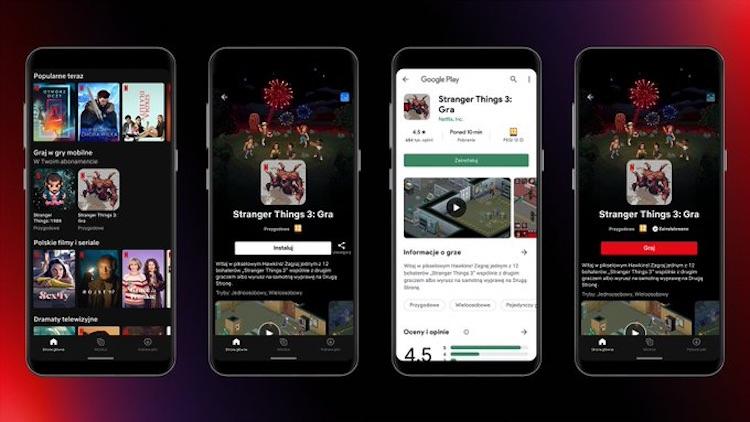 В Android-приложении Netflix появился раздел с играми, но пока только в Польше