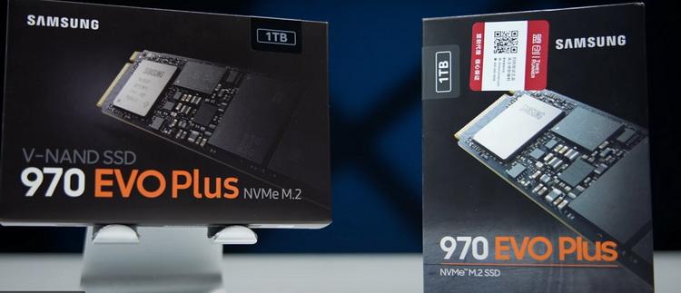 970 Evo Plus: старый слева, новый справа (изображения здесь и ниже:  潮 玩 客 YouTube)