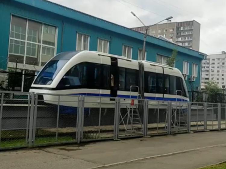 В России начаты испытания поезда с технологией магнитной левитации1