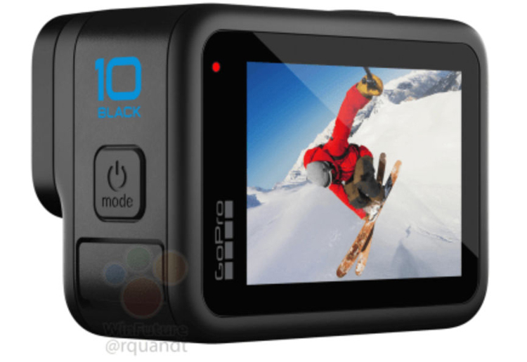 Экшен-камера GoPro Hero 10 Black позволит записывать видео 5.3K со скоростью 60 кадров в секунду