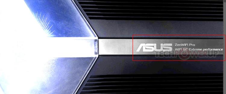 ASUS готовит роутер ZenWiFi Pro с эффектным дизайном