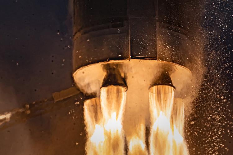 Третий тестовый запуск ракеты Astra окончился неудачей