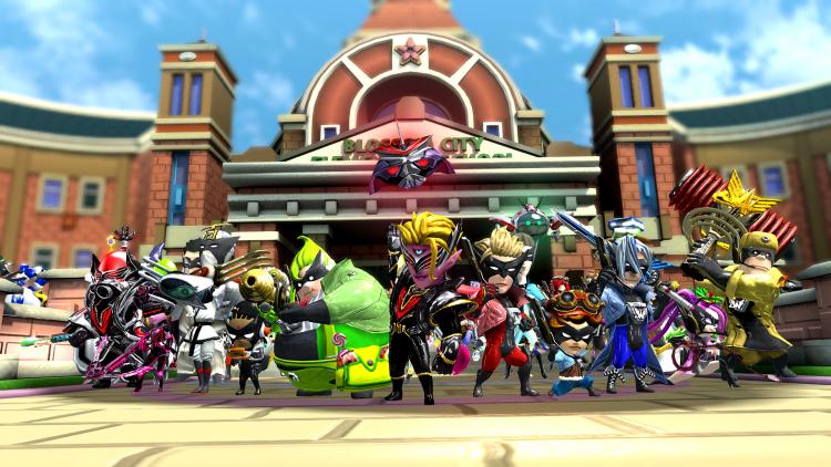 PlatinumGames выпустила новое дополнение к ремастеру The Wonderful 101 и показала геймплей Sol Cresta