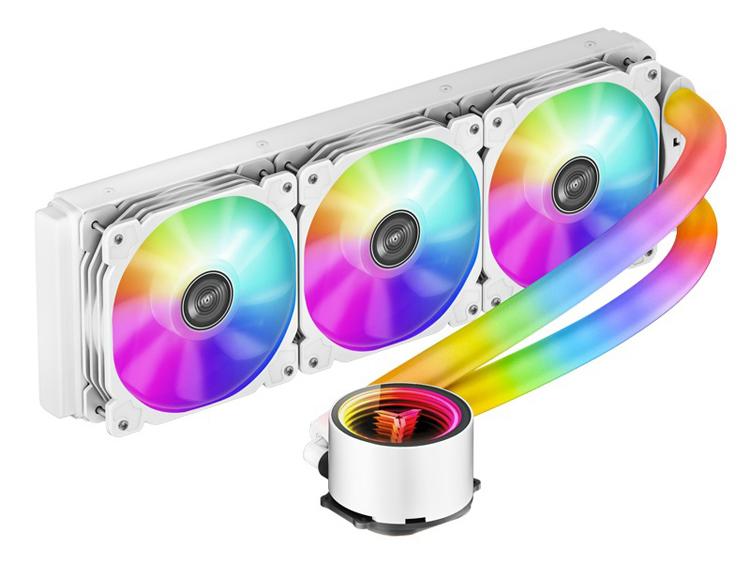 Jonsbo представила системы жидкостного охлаждения, у которых патрубки имеют RGB-подсветку
