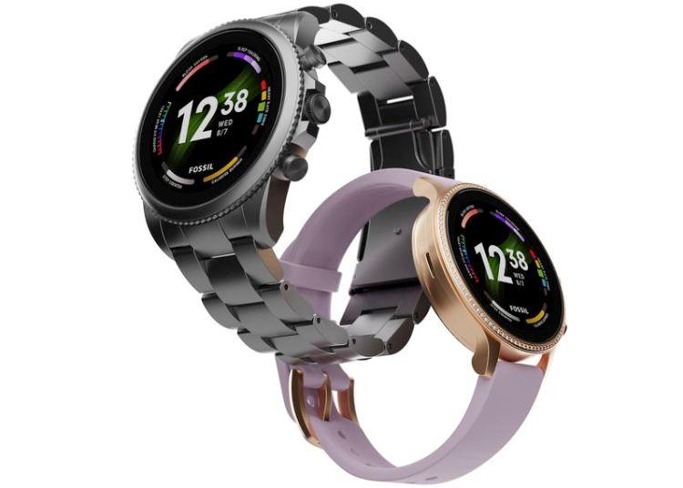 Представлены смарт-часы Fossil Gen 6 — первые на Snapdragon Wear 4100+, но со старой Wear OS 21