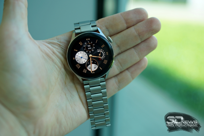 Huawei Watch 3 с металлическим ремешком