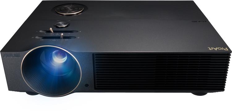 ASUS представила профессиональный проектор ProArt Projector A1 с очень точной цветопередачей