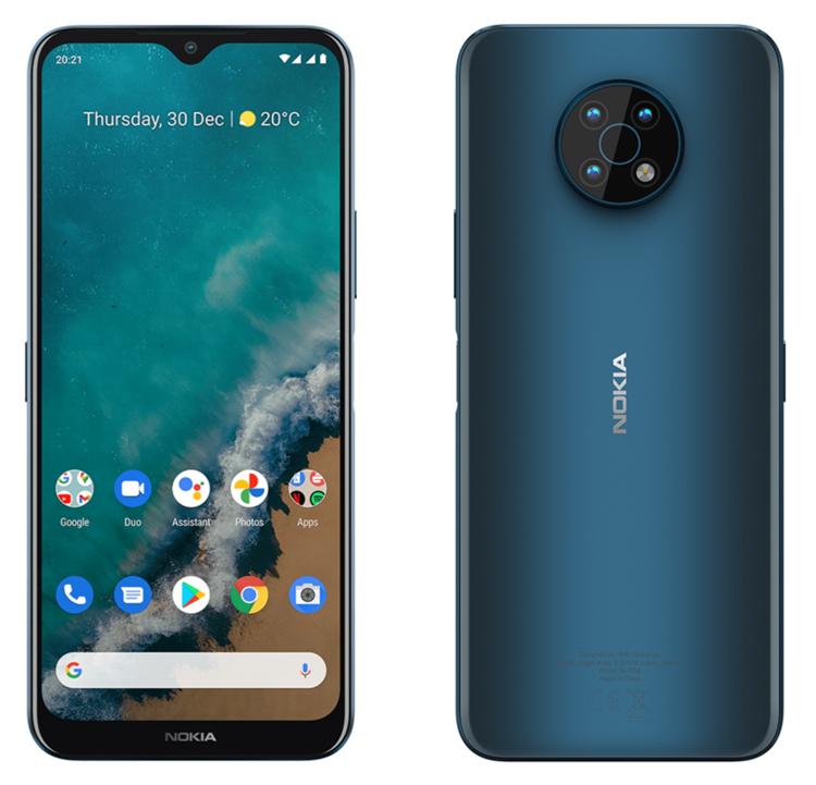 Смартфон Nokia G50 5G получит процессор Snapdragon 480 и экран HD