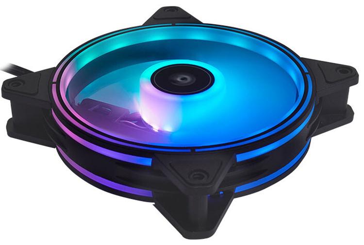 Chieftronic выпустила комплект ярких вентиляторов Nova A-RGB