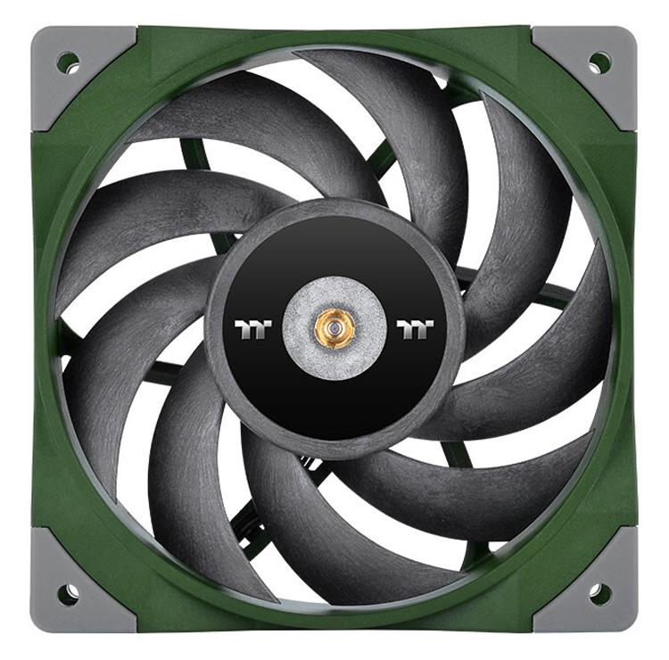 Thermaltake представила вентилятор ToughFan 12 с высоким статическим давлениемдля радиаторов СЖО
