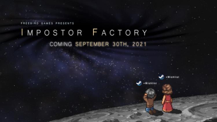 Разработчики трогательного приключения Impostor Factory (To the Moon 3) наконец определились с датой выхода — 30 сентября