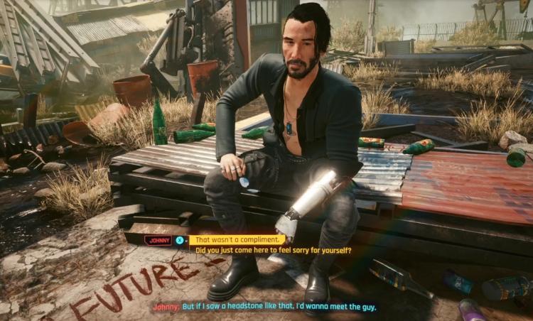 Первый бесплатный DLC для Cyberpunk 2077 включает альтернативный образ Джонни, две новые куртки Ви и автомобиль